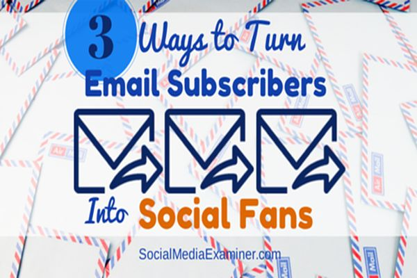 email subsription