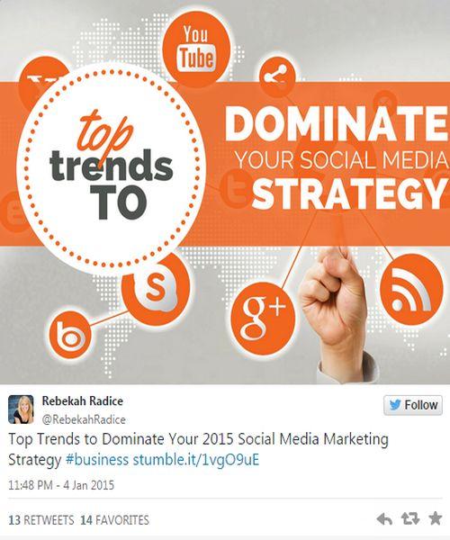 dominate social media strategy