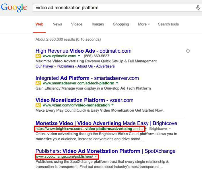 video ad monetization platform