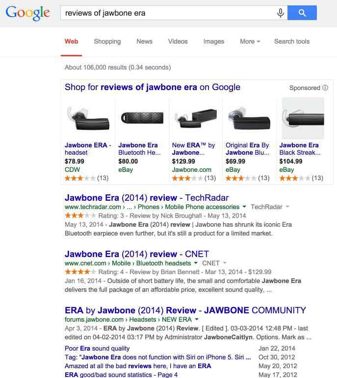 reviews of jawbone era