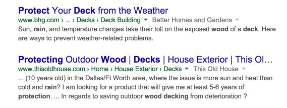 protect decks