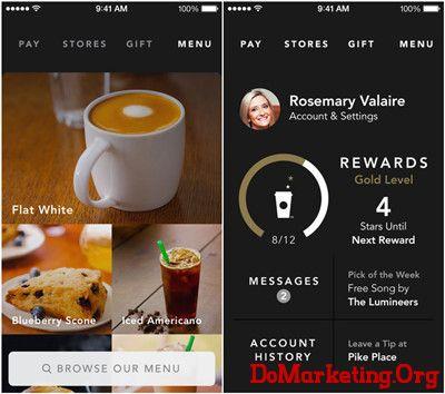 星巴克 Starbucks 行動 行銷 品牌 策略