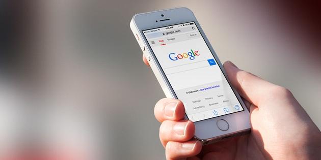 Google,搜尋,行動