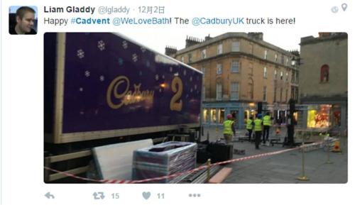 Cadbury聖誕卡車
