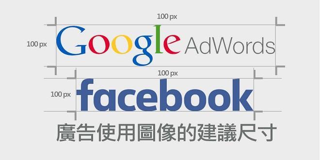 Google Adwords,Facebook,廣告,尺寸