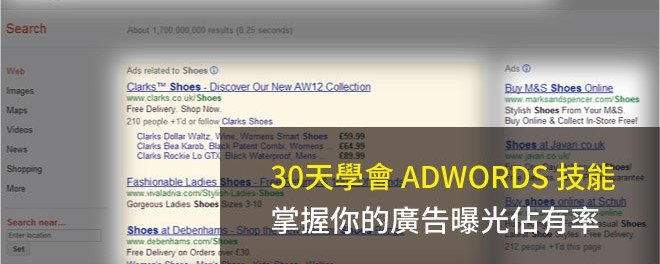 Adwords,曝光比重,多媒體廣告