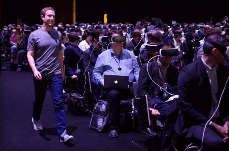 Facebook,祖克柏,VR