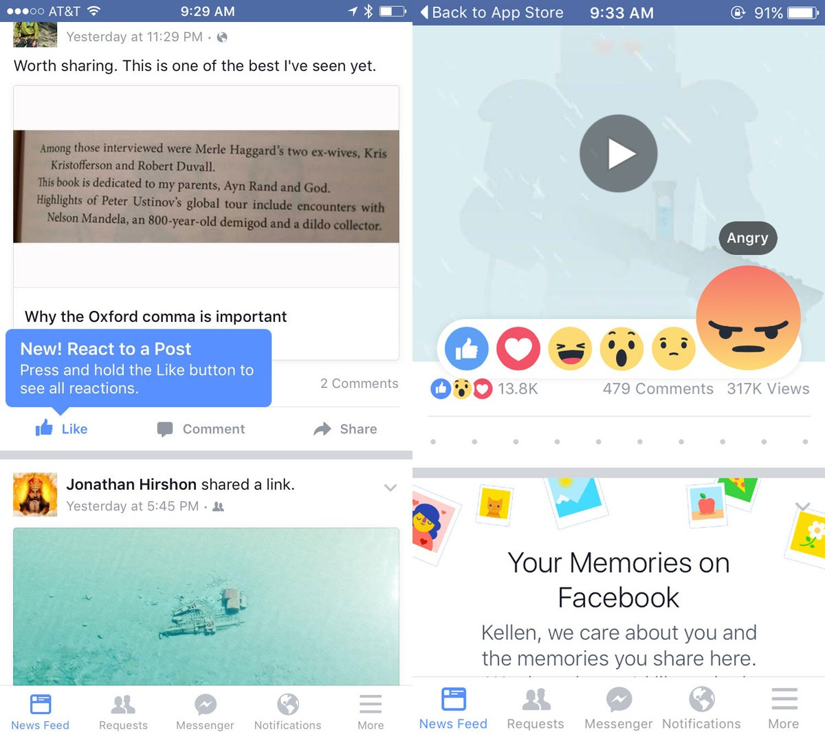 Facbook,反應按鈕,社群行銷