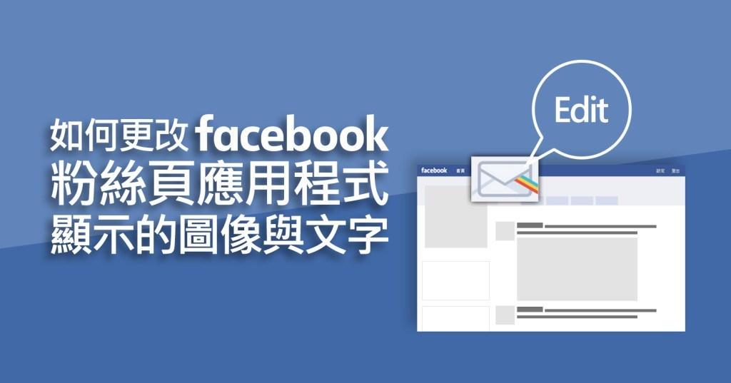 Facebook,應用程式,頁籤