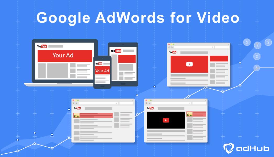Google AdWords, YouTube, 影音廣告