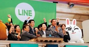 Line,IPO,行動通訊
