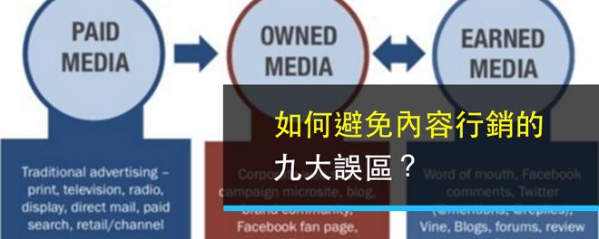 內容行銷,內容為主,誤區