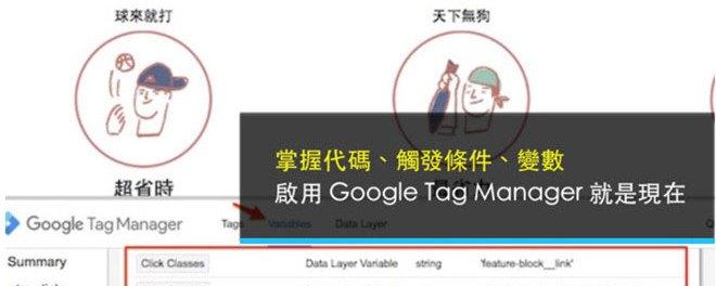GTM, 代碼分析, 網站優化