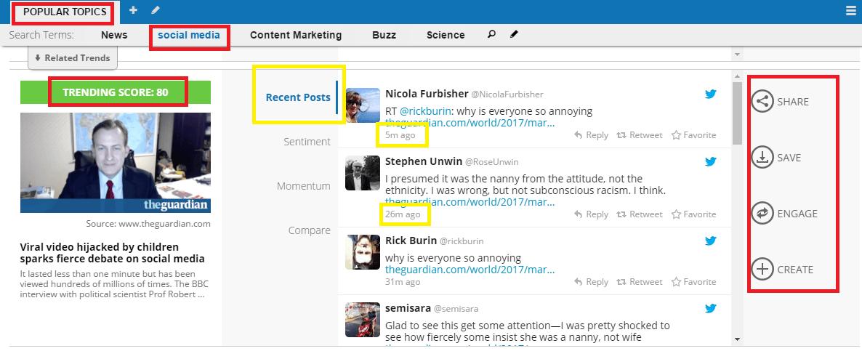社群媒體,話題趨勢,內容整合