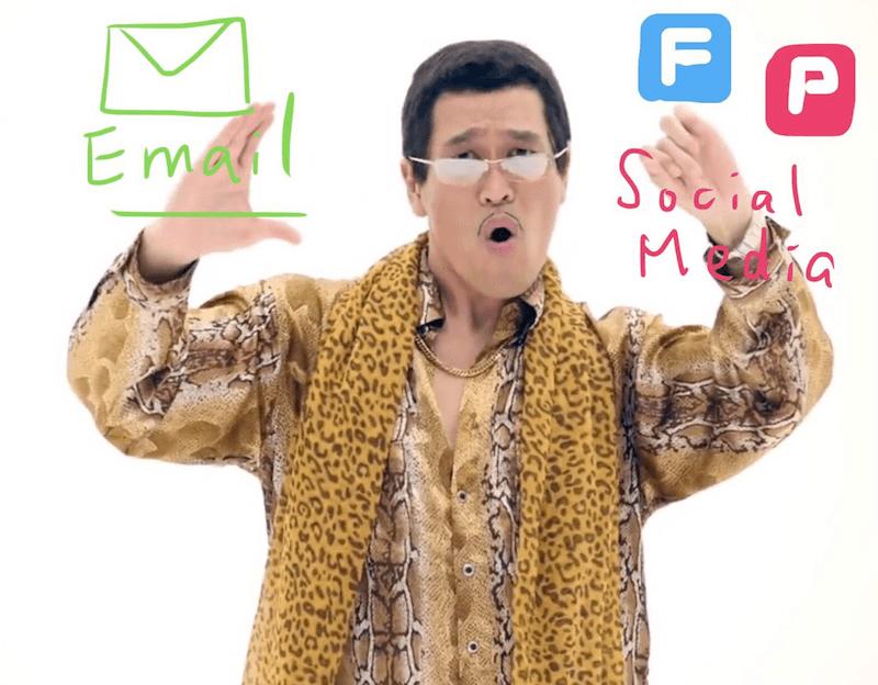 edm, 電子報, 社群發文