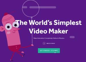 Biteable – 快速無腦,三分鐘影片套版工具