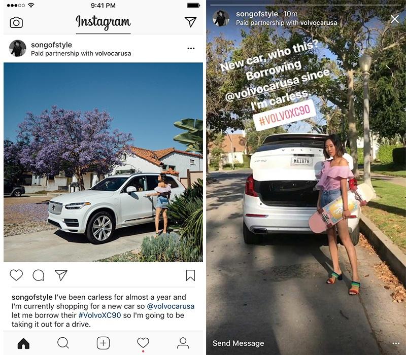 kpi, instagram, 標明付費合作夥伴關係