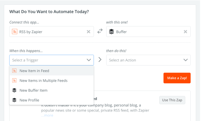 Zapier 串連各種應用程式並自動化工作流程