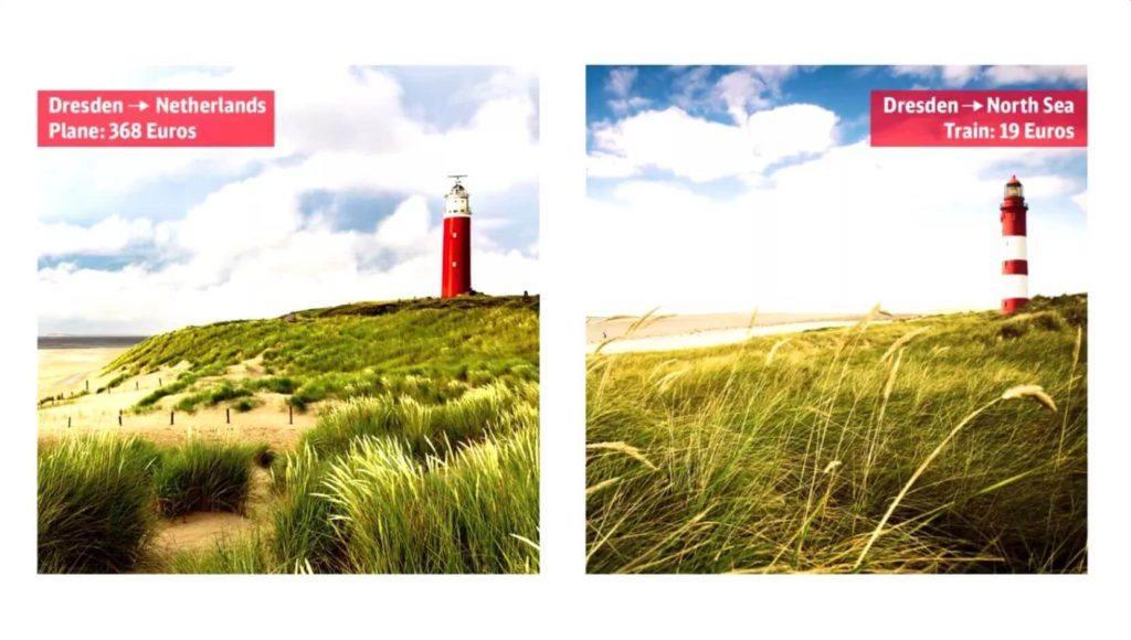德國國鐵創意廣告-19 歐元遊世界