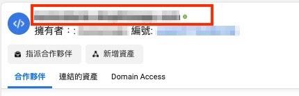 圖十、網域驗證成功後,旁邊燈號會轉為綠色